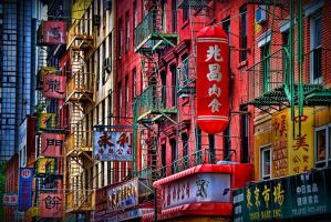 Art Of Chinatown by NikonKenny
