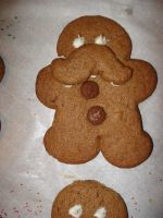 Mustacheo the Gingerbread by PSherman42WallabyWay