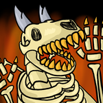 Spooky Skary Skelicon by stich76
