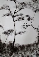 Nature Face Photopaper by RiensArtwork