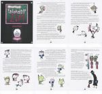 Invader Zim Show Bible - Selected Pages by Sarah--S