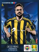 LesChampions: Diego Ribas Fenerbahce by akyanyme