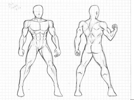 Male Template sample 2.0 by Dualmask