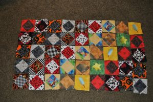 Kingdom Hearts Quilt WIP1 by Colt-kun
