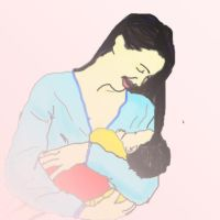 Jessica and baby by SaffyLailo