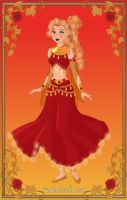 Disney Heroine: Fire Element Goddess by moonprincess22
