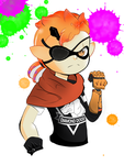 Punished Inkling Snake by Ashtails