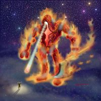 6411 Colossus FireAx by Dragonforge