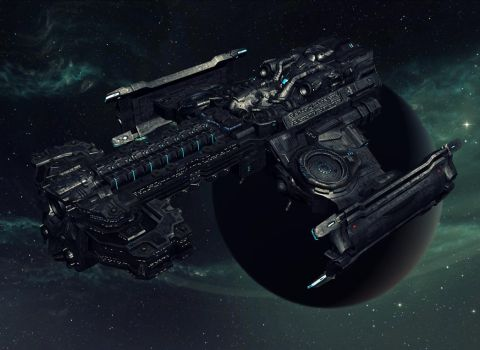 Hyperion battlecruiser by Goreface13