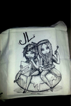 Custom Jute Bag - example c: by Herzlose