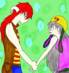 kenji and yuni by loverandfigther