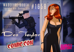 Des Taylor at NYC Comic Con 2014 by DESPOP