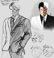 Two-Face (My Webcomics Design) by SylunaHirokashi