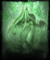 The Mighty Cthulhu by williamsquid