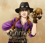 Commission - Archaeologist Extraordinare by Alexiel-VIII