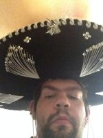 Me wearing a sombrero 7 by motorhea