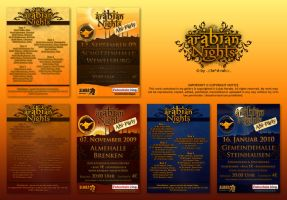 Arabian Night's Flyer Pack by Sed-rah