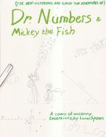 Numbers and Fish front page by LunarSpoon