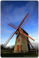 Windmill by alucier