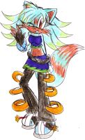 Teah the fox by LauryPinky972