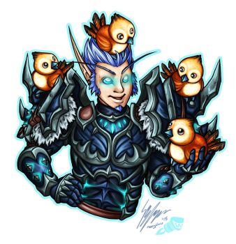 Gulver - Wowhead Contest Commission by Noxychu