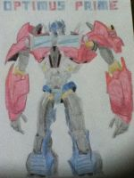 Transformers Prime: Optimus Prime by ElizabethPrime