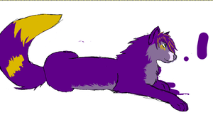 partly colored sketchy thing by firestar0630