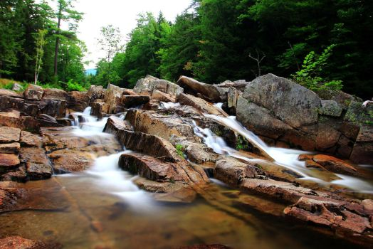 Stock: Three Small Falls by Celem