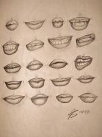 Lots of Lips by The-Lighted-Soul