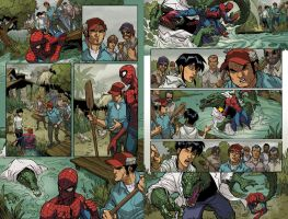 Spider-man MA 11 2-3 by greasystreet