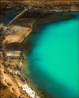 Gokyo lake from above by PasoLibre