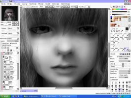 Cry - wip 05 by ximbixill