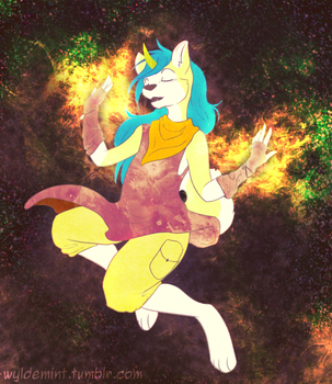 Space witch by wyldemint