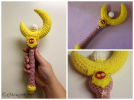 Sailor Moon Crescent Moon Wand by xMangoRose