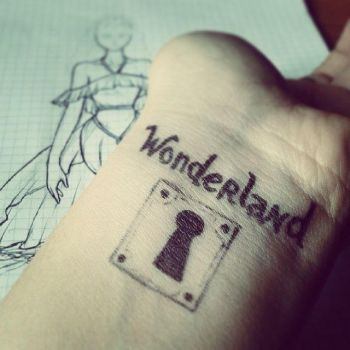 I found myself in Wonderland by GraceMalvin