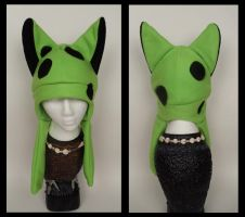 Green Spotted Hat by Mermade4u