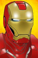 Iron Man Color by Sapoman