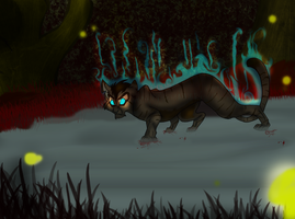The Dark Forest- HawkFrost by AmeliaWolfe