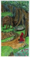 Red Riding meets the Wolf by JediSeeker1
