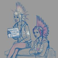 Punk Girls by Sketchphase