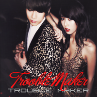 CD COVER.~ TROUBLE MAKER_TROUBLE MAKER by Solita-San