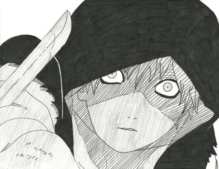 Sasori :Ink: by themac1996