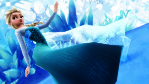 Queen Elsa by RinnyThePony