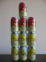 Angry birds soda tower by Twilightberry
