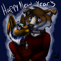 New Year's With You by FrostbittenRuins