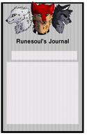 Journal skin for Runesoul by Wolfvids
