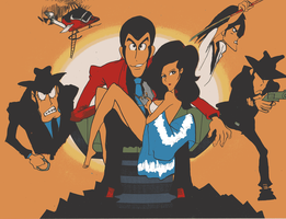 Lupin the Third by c6yr2002