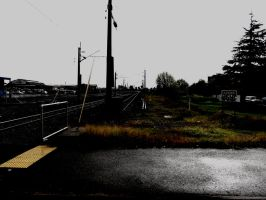 Railway From Road by agreenbattery