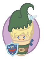 Ice Cream Link by TheQuietWriter