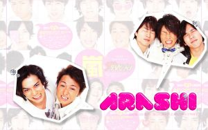Arashi wallpaper by bungho